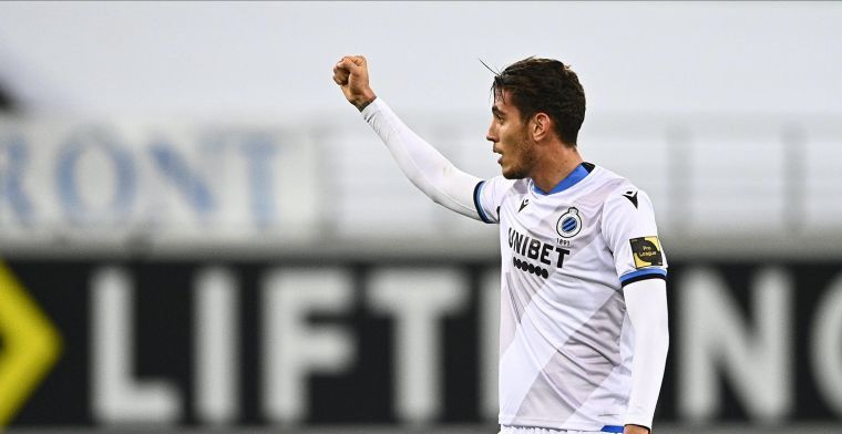 Pérez (Club Brugge) met doel: In die competitie voetballen zou fantastisch zijn