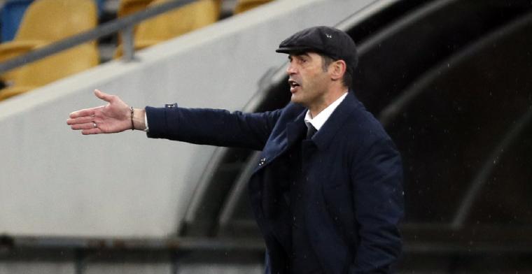 Fonseca onder druk bij AS Roma: 'Er wacht ons grote uitdaging, Ajax is ijzersterk'