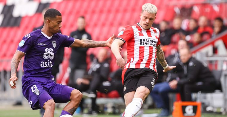 'Dissonant' bij PSV verbaast Perez en Van Gangelen: 'Best gek, hij lijkt wel ziek'