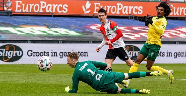 'Feyenoord ziet kansen door WK en verricht extra inspanningen voor Berghuis'