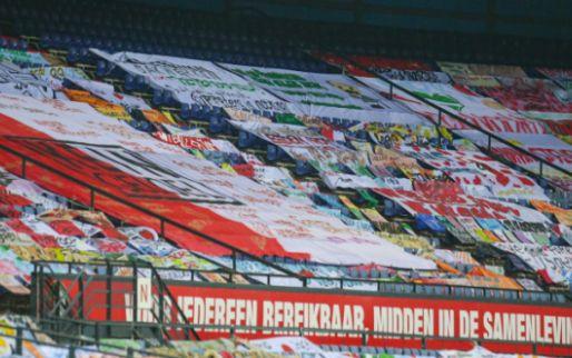 Spandoeken konden blijven liggen in Kuip: 'Is aan het stadion zelf'