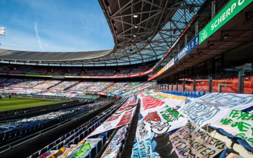 Feyenoord verwijdert spandoeken: 'De KNVB had de portemonnee moeten trekken'