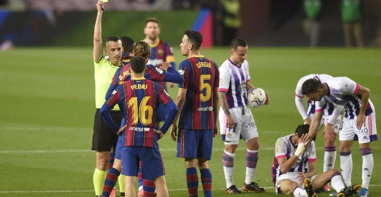 Zege van Barça een 'onvoorstelbare schande': 'Je bent nooit een beetje zwanger'