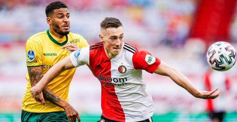Baan tipt Feyenoord over Bozeník: 'Hij móet volgend jaar echt gaan spelen'