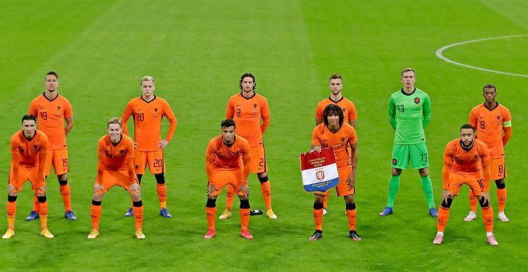 KNVB deelt programma Oranje tot aankomend EK, twee oefenwedstrijden gepland
