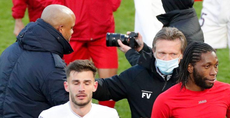 'Niemand gaat nu beweren dat Kompany ineens een betere trainer is dan Vercauteren'