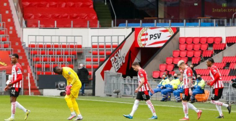 PSV verbaasd over toelaten fans in stadions: 'Compleet overvallen door bericht'