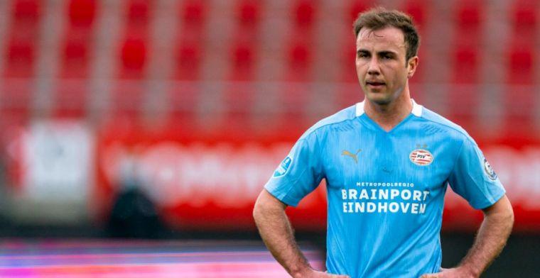 Bosz greep naast Götze: 'Door zijn verleden bij Ajax goed oog voor Eredivisie'