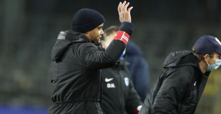 """Kompany bouwt: Club Brugge en Anderlecht liggen weer wat dichter bij elkaar"""""""