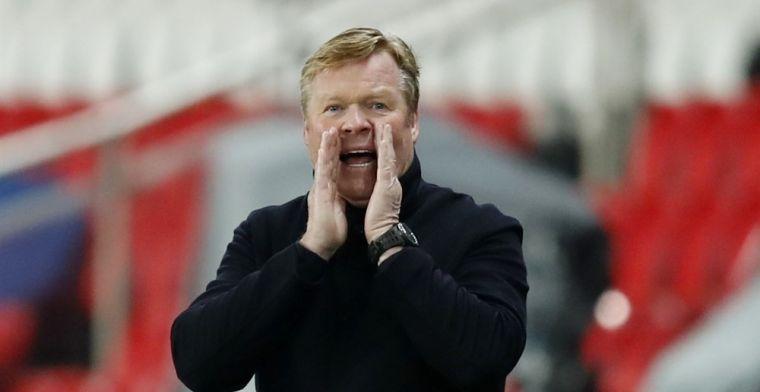 De Boer verwacht kritiek voor Koeman bij verlies: 'Toen wilden ze andere coach'