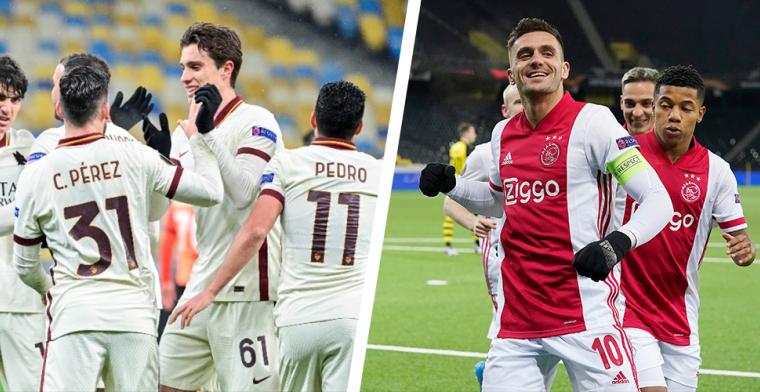 Schelvis over 'lachertje' Roma: 'Ten opzichte van Ajax ontberen ze pure klasse'