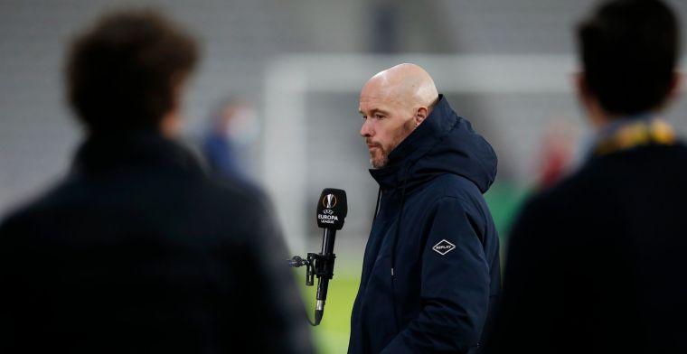LIVE: Ten Hag en Timber praten met pers voor Ajax-Roma in Europa League (gesloten)