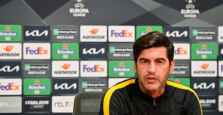 Fonseca deelt 'positief' Roma-nieuws: 'Hij is fit en zal donderdag starten'