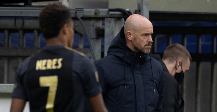 Ten Hag lovend: 'Manier waarop hij naar voetbal kijkt, daar hou ik van'
