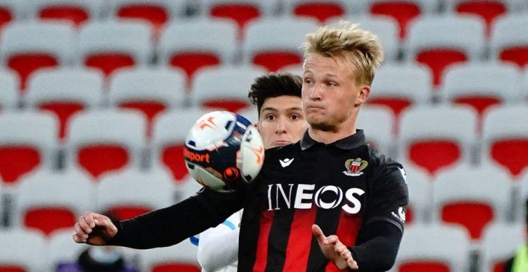 'Dolberg heeft na twee jaar genoeg gezien in Nice en wil naar Engeland'