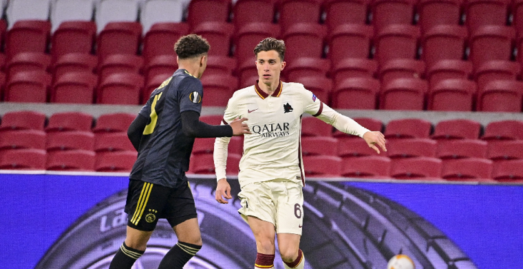 Calafiori: 'Heb geen respect voor hem, maar ik snap de ballenjongen van Ajax wel'