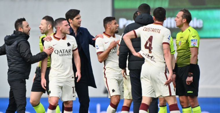 Onrust bij Roma in aanloop naar Ajax-uit: 'Wilden vorig seizoen al nieuwe trainer'
