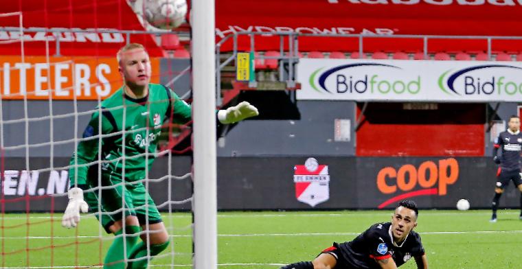 Telgenkamp (FC Emmen) zet punt achter carrière: 'Wil iedereen bedanken'