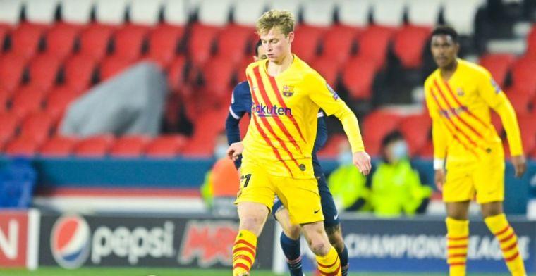 SPORT: Koeman kiest voor zekerheid met De Jong in aanloop naar cruciale Clásico