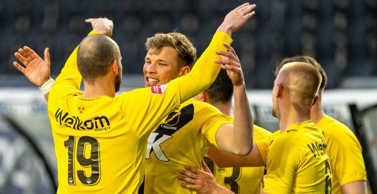 NAC houdt promotiedroom levend na moeizame overwinning op Jong Utrecht