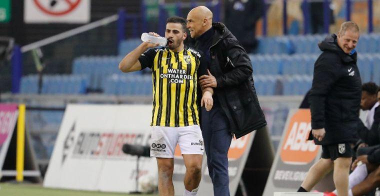 Vitesse-trainer Letsch lyrisch: 'Is er zo een die kunststukjes laat zien op veld'