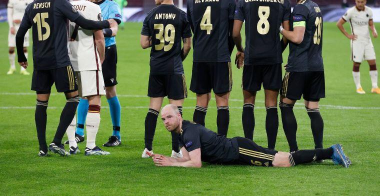 Klaassen offert zich op bij Ajax: Bij andere teams deed ik dit nooit, eigenlijk