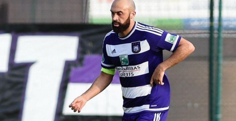 Vanden Borre traint weer bij Anderlecht: 'Professioneel en nederig'