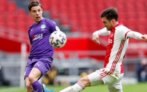 Ajax-staf flirt met Suslov (FC Groningen):