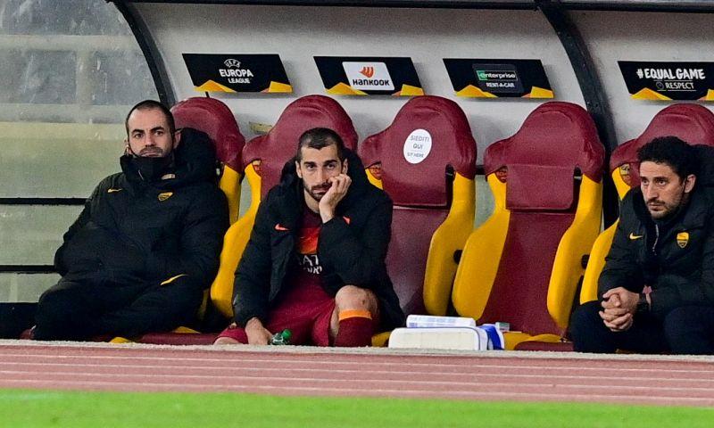 Afbeelding: AS Roma kan tweetal weer in wedstrijdselectie opnemen tijdens Ajax-intermezzo