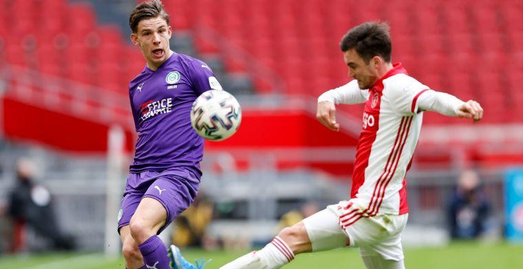 Ajax-staf flirt met Suslov (FC Groningen): We hopen je snel nog eens te zien