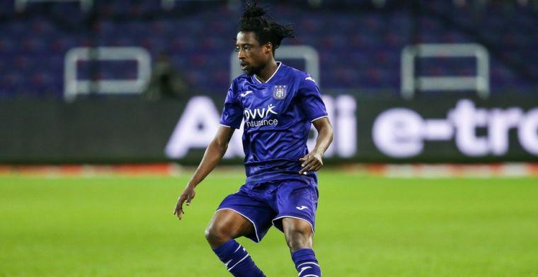Ashimeru probeert Anderlecht-speler te overtuigen niet voor België te kiezen