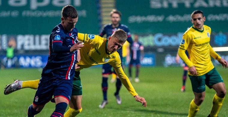 Emmen hijgt VVV en Willem II plots in de nek na krankzinnig slot tegen Fortuna