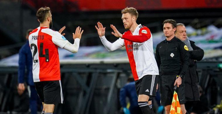 Van Loen maakt Feyenoord-spitsen met grond gelijk: 'Vind je ook in Eerste Divisie'