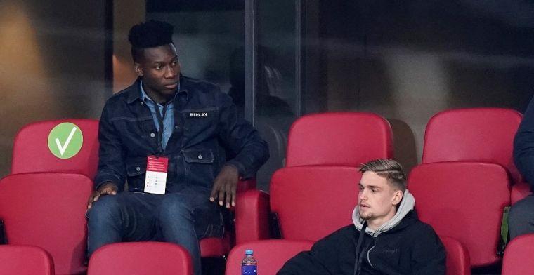 Claim van Nicolò Schira: Onana verlengt en kan de tien jaar volmaken bij Ajax