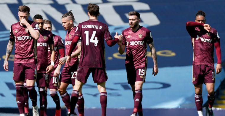 KDB-loos Manchester City gaat verrassend onderuit tegen tienkoppig Leeds