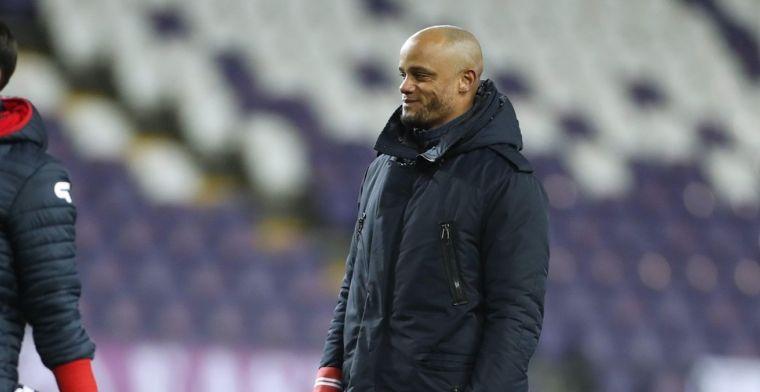 Kompany maakt selectie van Anderlecht bekend voor topper tegen Club Brugge