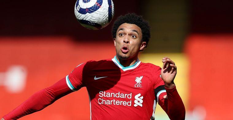 Uitgerekend Alexander-Arnold de held: Liverpool beëindigt dramatische thuisreeks