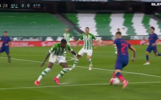 GOAL: Carrasco treft al vroeg raak na geweldige aanval, slechts punt voor Atléti