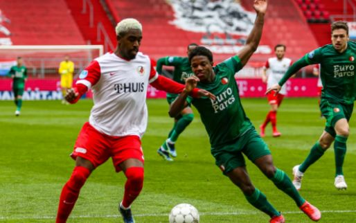 LIVE: Feyenoord al vroeg op achterstand na eigen goal Fer