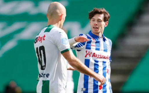 Van Bergen moet shirt Robben teruggeven na derby tussen Groningen en Heerenveen