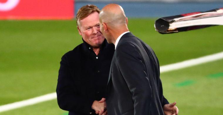 Koeman en Zidane gaan los in Clásico: Real Madrid legt achilleshiel Barça bloot