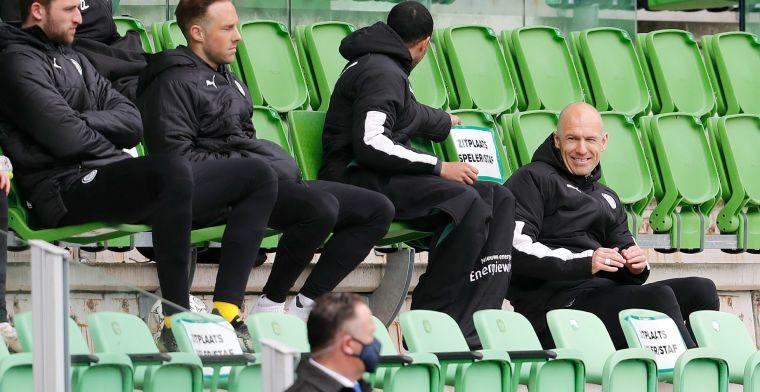 Perez ontwaart 'vreselijk gevoel' bij Robben: 'Hij denkt: please, please, please'