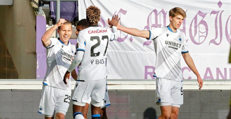 Club Brugge-fans niet te spreken over afgekeurde goal Vormer