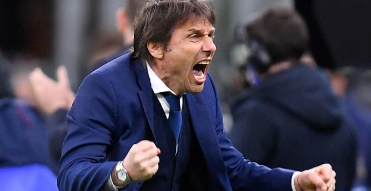 Inter staat aan de leiding, maar ex-aanvaller wil ontslag voor Conte