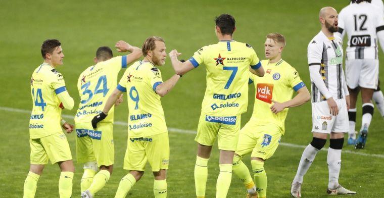 KAA Gent speelt weer met gele shirts, Vanhaezebrouck met opvallende uitleg