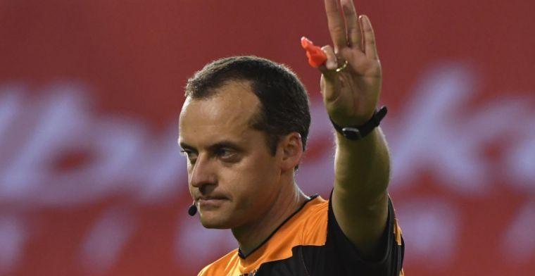 Boucaut ziet fout in strafschopgebied, maar geeft geen penalty: Zeer vreemd