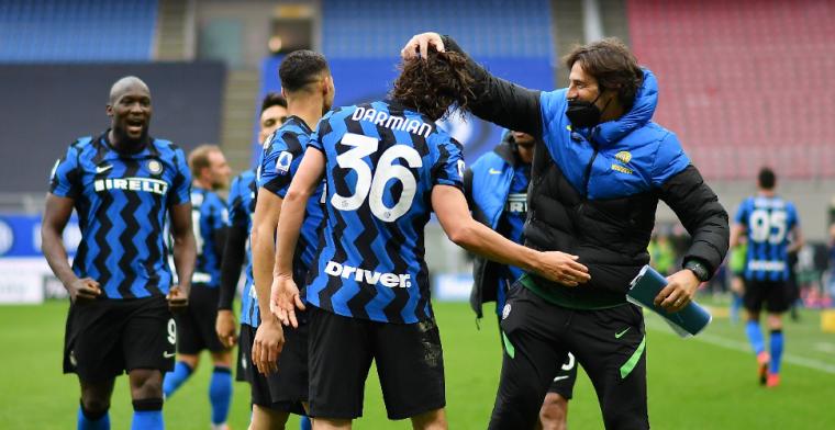 Internazionale zet met goal in extremis grote stap richting landstitel