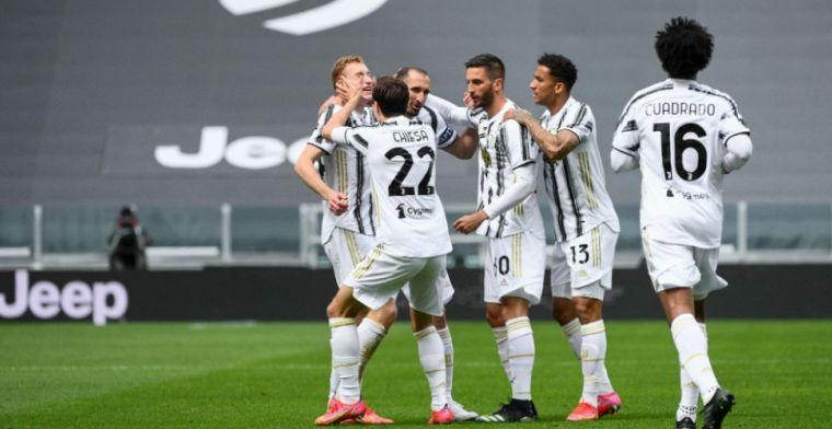 Juventus maakt geen fout tegen Genoa en houdt aansluiting met AC Milan