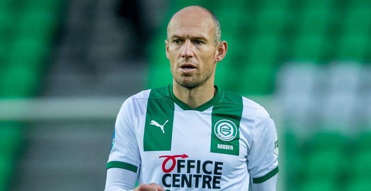 FC Groningen verrast met plek in wedstrijdselectie voor Robben
