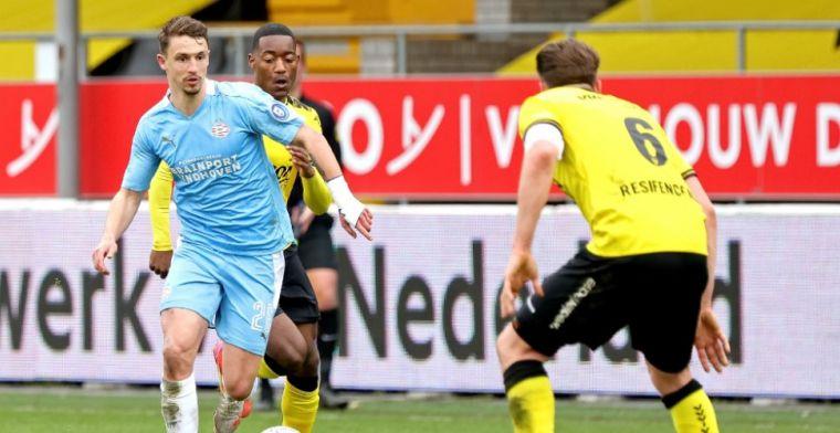 Boscagli blinkt uit op PSV-middenveld: 'Weet het niet, is totaal verschillend'